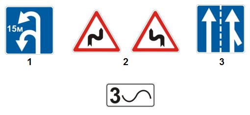 решать тесты по дорожным знаком