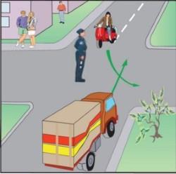 Регулювання дорожнього руху.